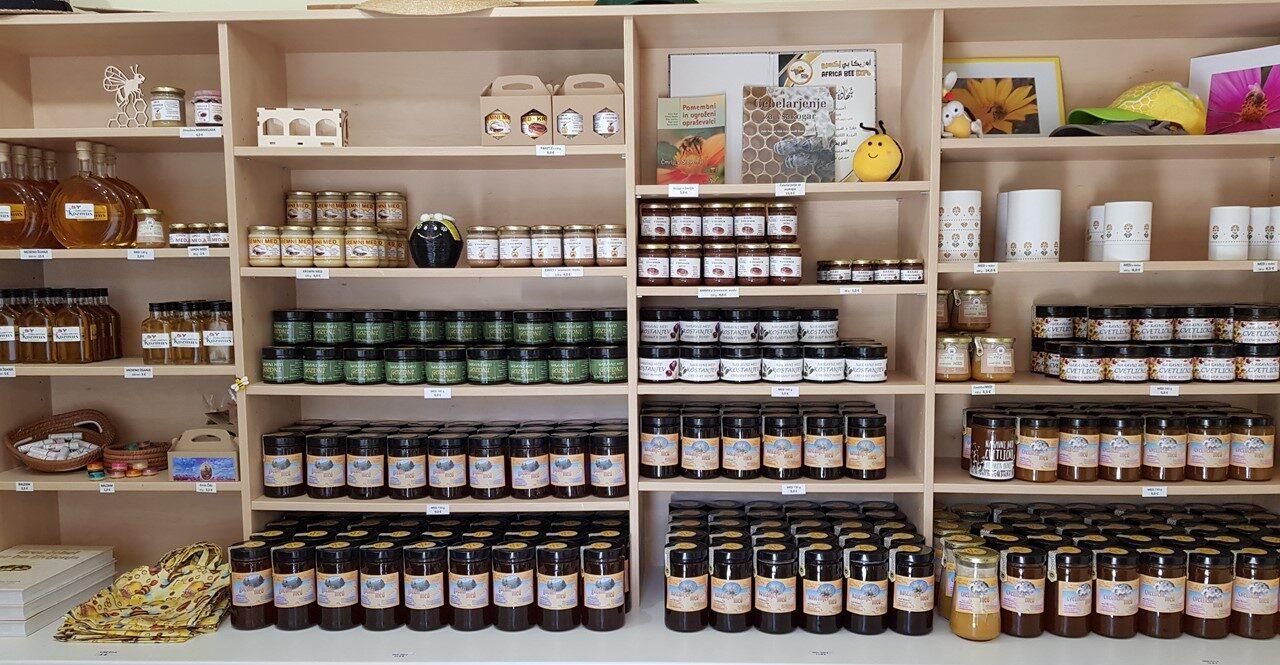 Trgovinica Kozmus Pilštanj Cvetlični med