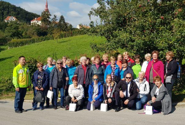 Izlet članic društva kmečkih žena.