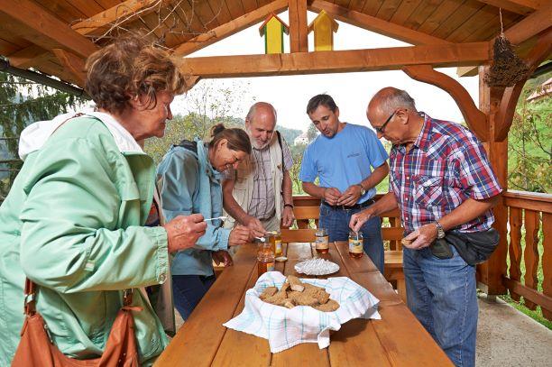 Obisk članov čebelarskega društva Kranjska Gora